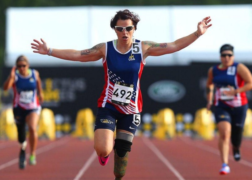 LCPL SARAH RUDDER, USMC (RET):  from witnessing & respnding to the 9/11 Pentagon attack to Invictis Games athlete