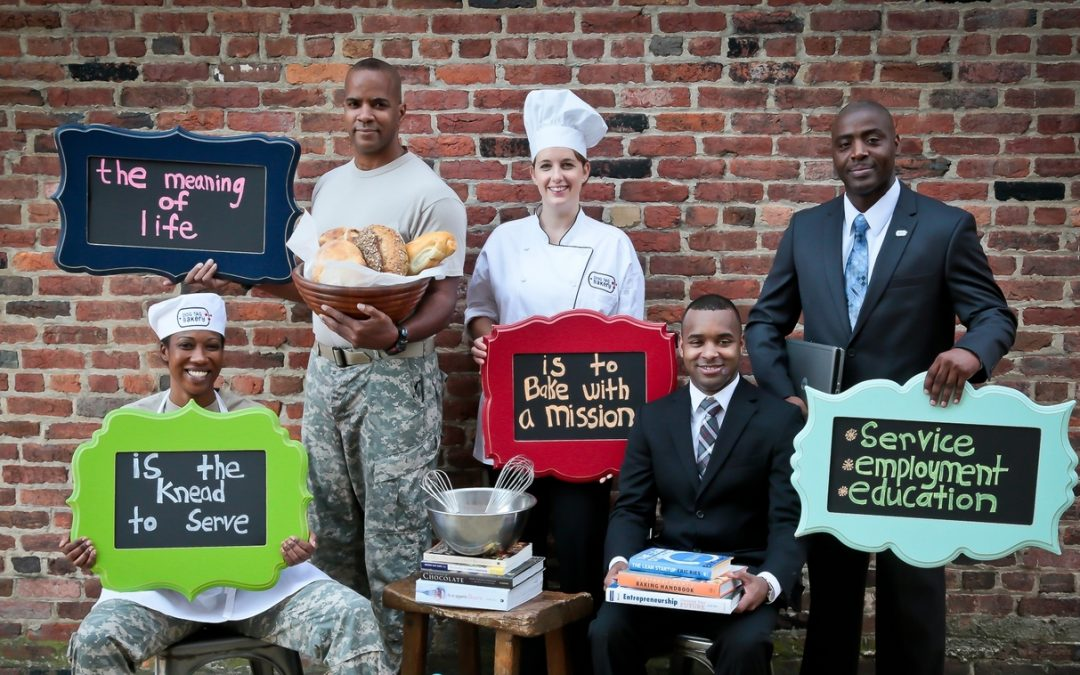 MEGHAN OGILVIE:  Dog Tag Bakery offers entrepreneur fellowships in conjunction with Georgetown University to veterans!
