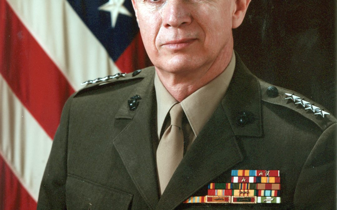 GEN JOE HOAR, USMC (RET):  Leading in Vietnam, at Parris Island and at CENTCOM