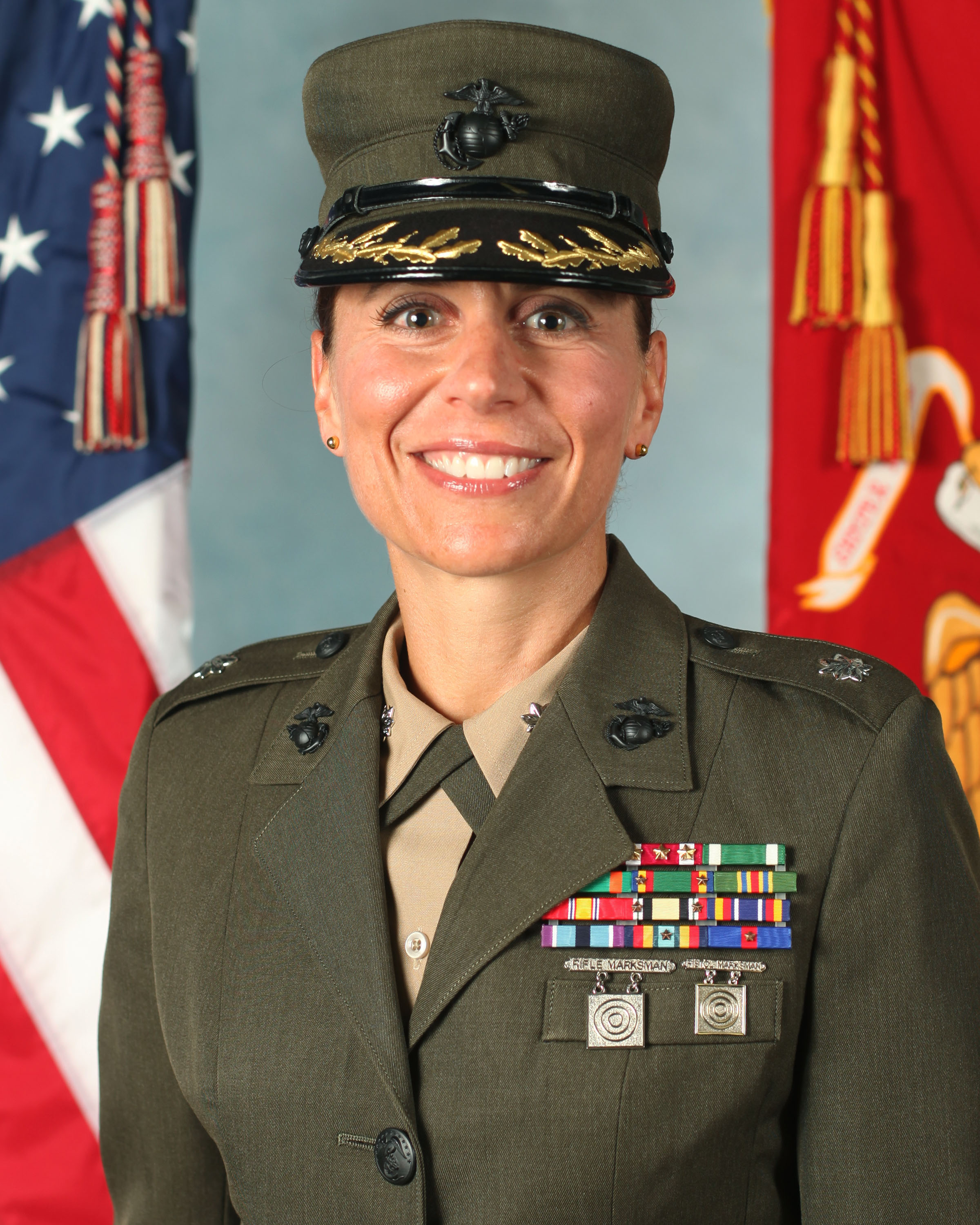 "LTCOL KATE GERMANO, USMC (RET):  Higher Standards for Female Marines & the ""OCS model"" for females Recruit Training"