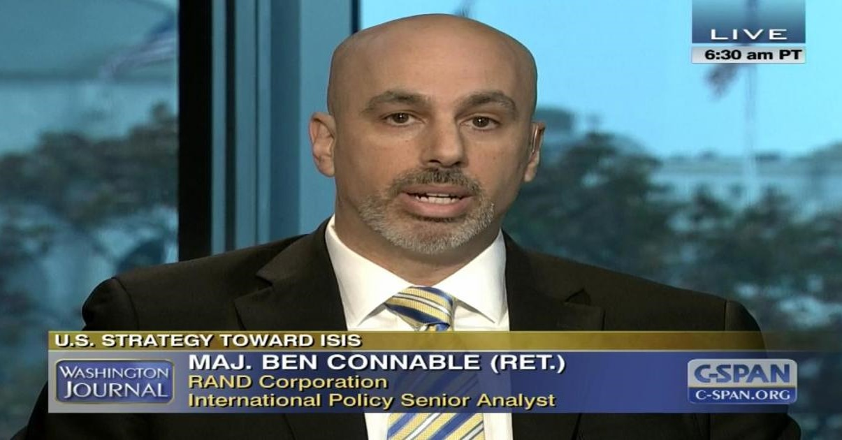 "MAJ BEN CONNABLE, USMC (RET):  a progress report on Ambassador Ryan Crocker's ""Task Force on the Future of Iraq"""