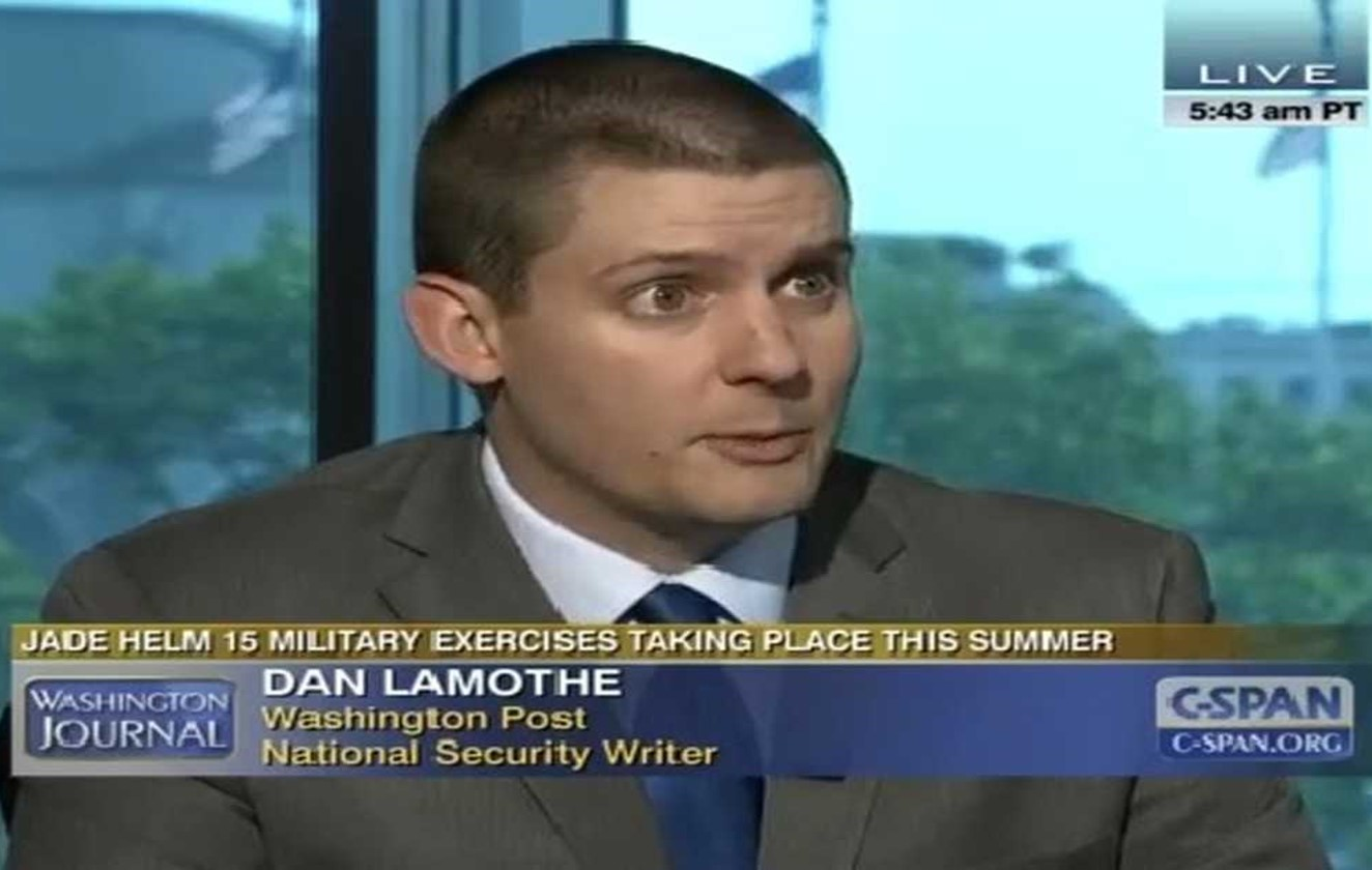 WASHINGTON POST REPORTER DAN LAMOTHE:  The complexities & nuances of the Transgender Issue for the DOD