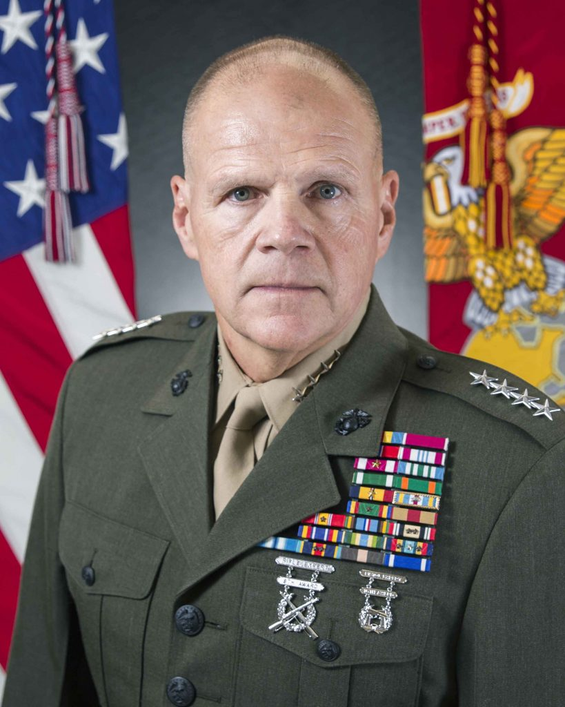 General R.B. Neller, USMC Commandant of the Marine Corps