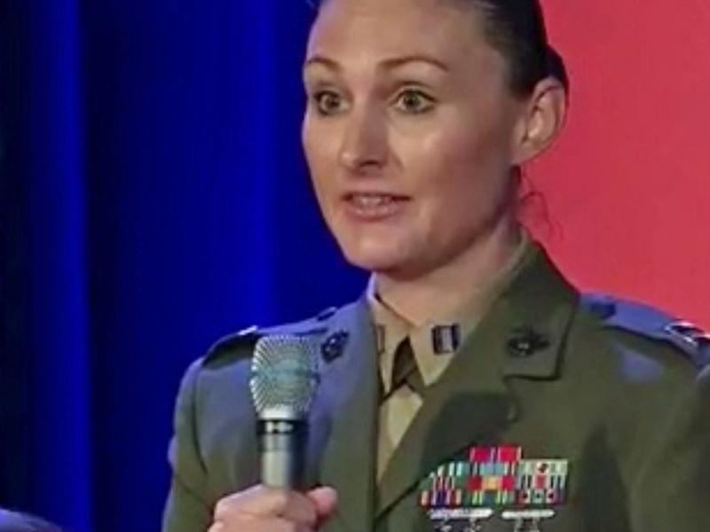 "CAPT LAUREN SERRANO, USMC:  talks two articles she's written — ""Why Women Do Not Belong in the U.S. Infantry"" & "" To Get Out, or Not to get out?  Gender Crisis in the Marine Corps"""