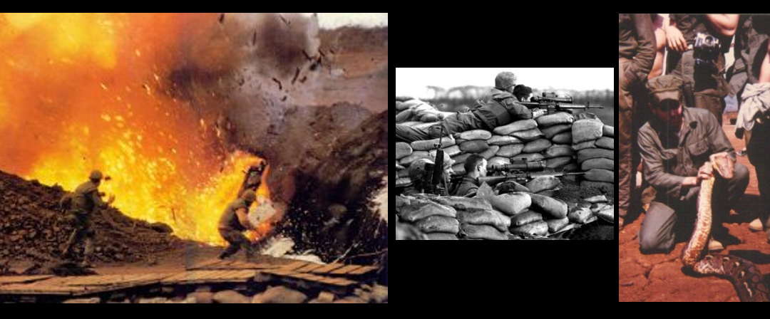 Khe Sanh fifty years later through the audio of two events documented by Ken & Betty Rodgers in their documentary: Bravo! Uncommon Men, Common Valor