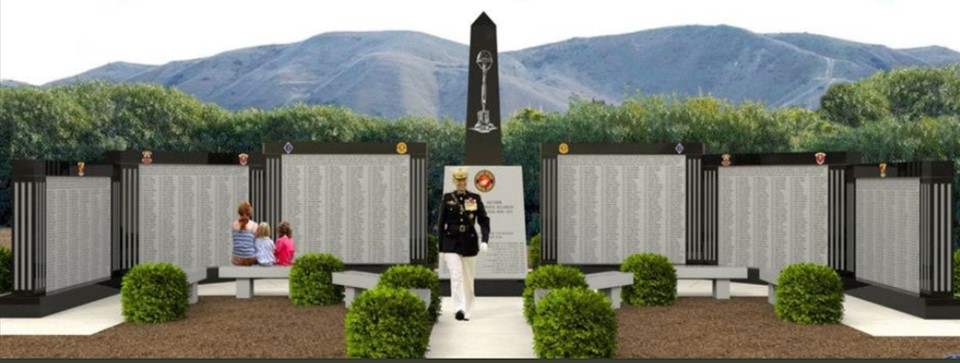 NICK WARR:  5th Marines Vietnam War Memorial will be dedicated this Monday!