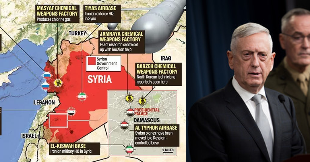 BEHIND THE STRIKE:  how the targeting process for the Syrian strike works