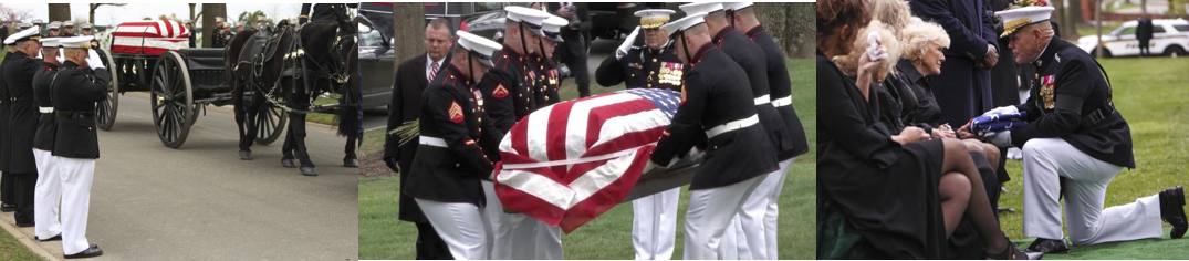 NEWS HEADLINES:  Marine Corps legend and Medal of Honor recipient Col Wesley Fox, USMC laid to rest at Arlington National Cemetary