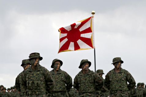 EDITORIAL:  Applaud Japan's activation of its first Marines since WW2 because there can only be SUSTAINED PEACE THROUGH THE MILITARY & ECONOMIC STRENGTH OF FREE NATIONS