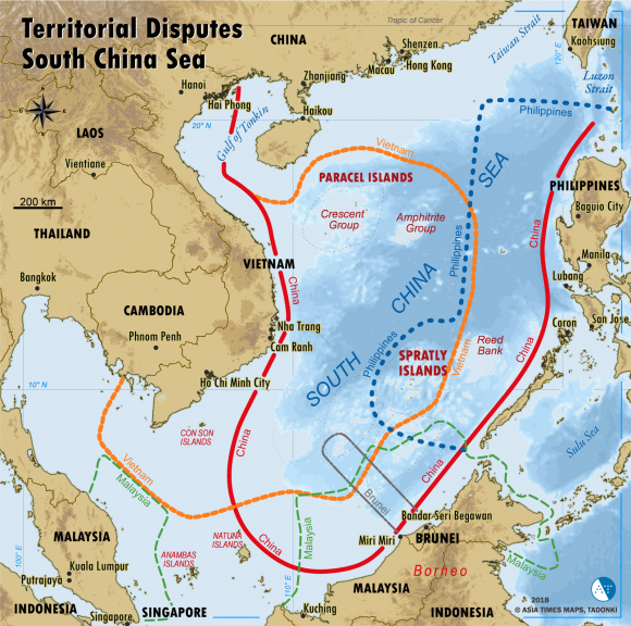 ASIA TIMES:  How to counter China's fortified islands in South China Sea