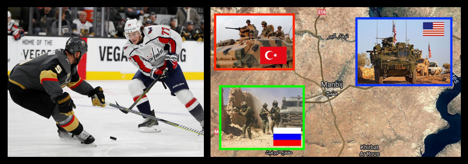 NEWS HEADLINES:  the Stanley Cup Finals are GREAT & the US and Turkey make a deal in Syria