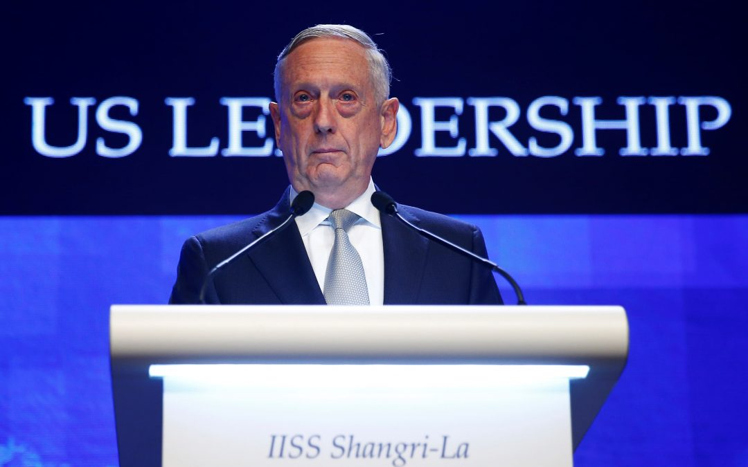 INDOPACIFIC, SOUTH CHINA SEA & NOKO NUKES:  SECDEF Mattis takes questions in Singapore