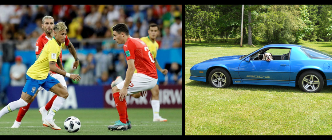 MIKE & MIKE: the World Cup tournament is fun & driving an IROC Camaro in England in the 1980's