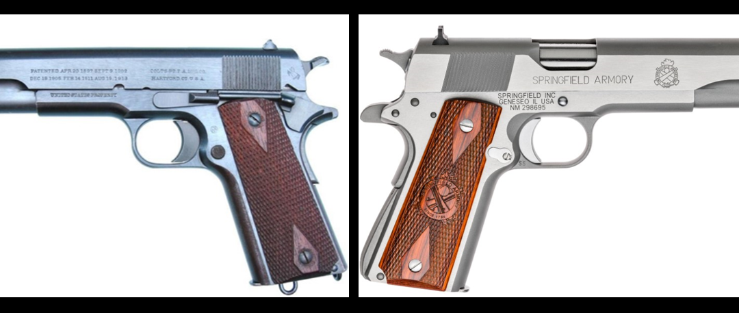 MIKE & MIKE:  everything you need to know about the M1911 .45 caliber semi-automatic pistol
