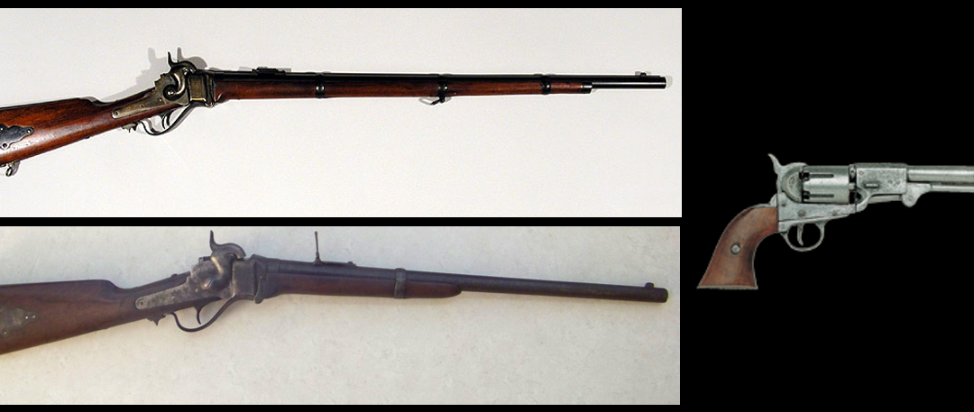 MIKE & MIKE:  Civil War GUNTALK… rifles, carbines and the violent nature of close combat in 1863