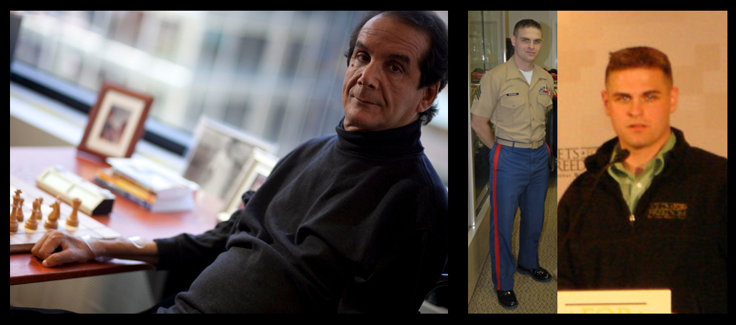 INSPIRATION WEDNESDAY:  Charles Krauthammer in his own words & SSgt Jeremiah Workman (Part 2)
