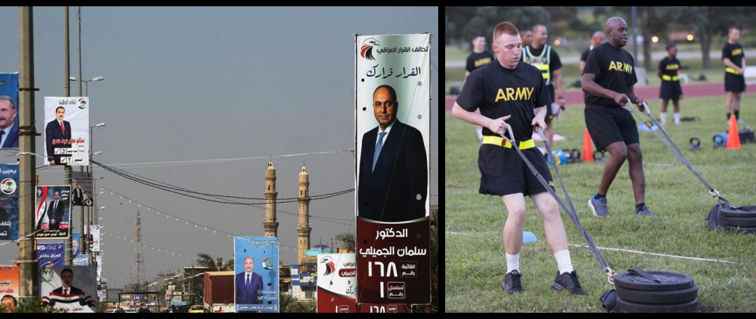 NEWS & COMMENTARY:  an interesting OP-ED from the CG of US Forces in Iraq & the US Army has a new fitness test