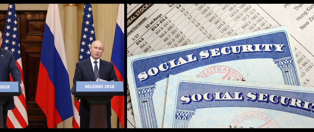 MIKE & MIKE:  thoughts on conservative concern about Putin and Russia  —-  was there EVER a Social Security lock box?