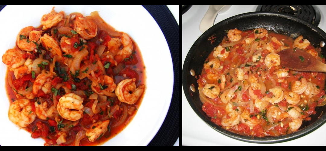 THE HEAD CHEF RETURNS AND WE'RE TALKING:  Shrimp Fra Diavolo