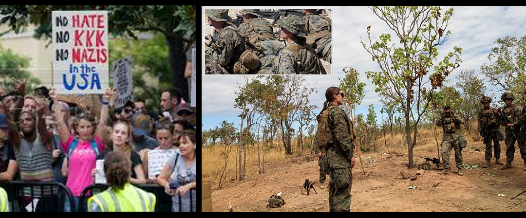 "NEWS & COMMENTARY:  the US is a more ""racist"" nation?  &  why the USMC's first female rifle platoon commander impresses me"