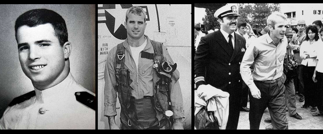 NEWS & COMMENTARY:  the military life of Captain John S. McCain, USN (retired)