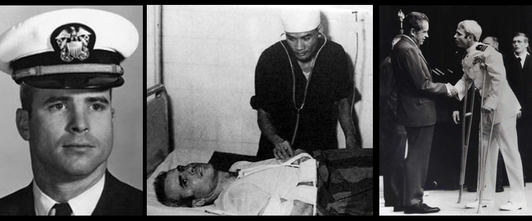 IN HIS OWN WORDS:  John McCain discusses the Vietnam War