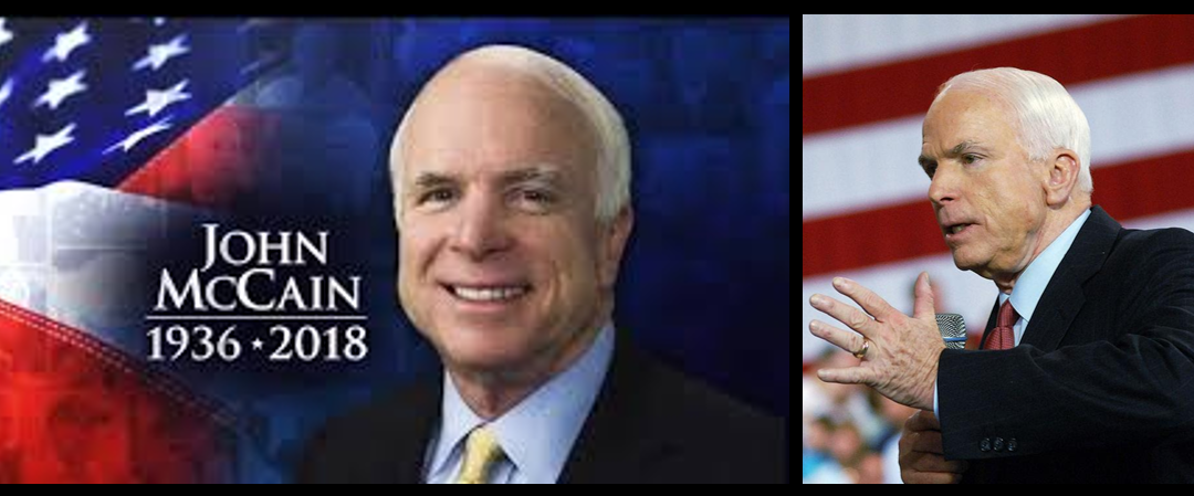 MIKE & MIKE:  John McCain crammed a lot of living into one life