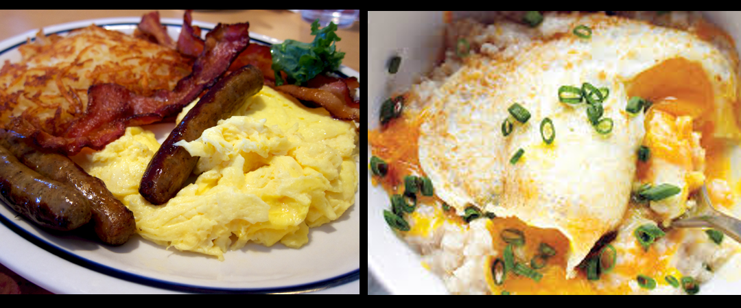 THE CHEF SEZ:  Great breakfast tips from scrambled eggs, omelettes and hash browns to great bacon and spicy sausage