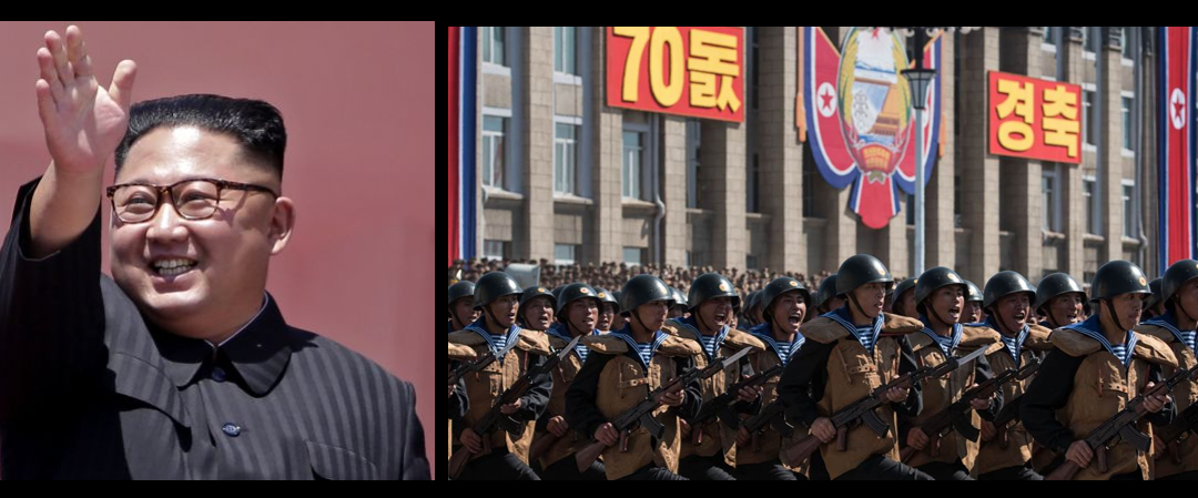 NO ICBM'S IN THE NORTH KOREAN PARADE & THE SOUTH KOREAN TWO-STEP:  Grant Newsham
