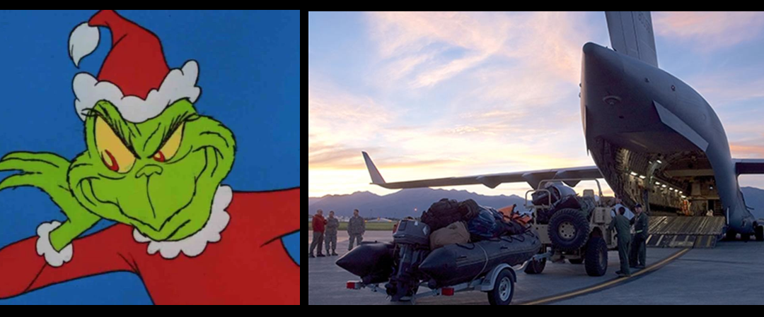 NEWS & COMMENTARY:  The Grinch suffered from PTSD!  —  The DOD's response plan to FLORENCE is spot on!