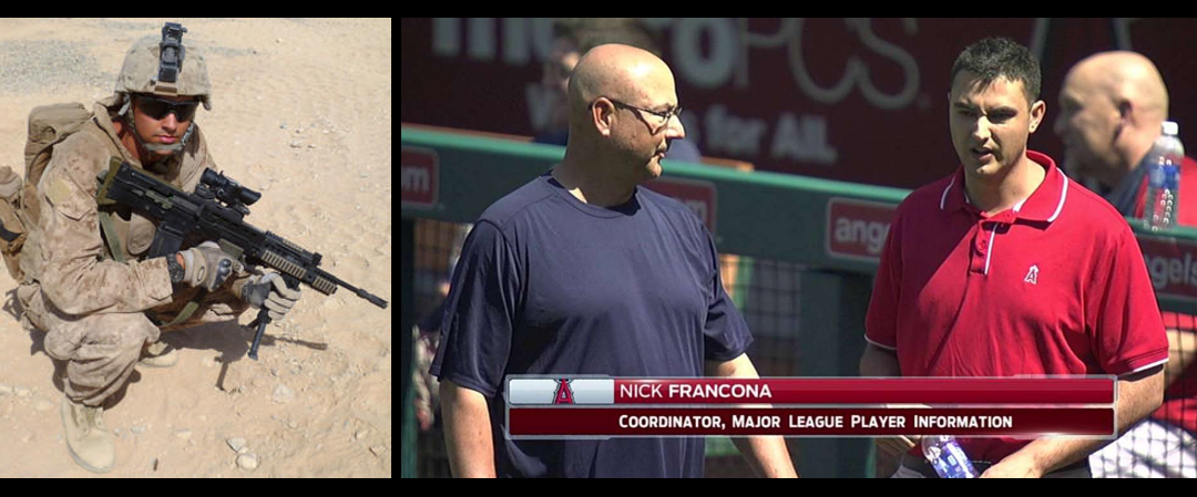 FROM SCOUT SNIPER PLT COMMANDER IN AFGHANISTAN TO WORKING IN MAJOR LEAGUE BASEBALL:  Nick Francona