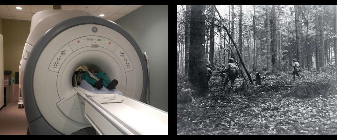 MIKE & MIKE:  life with a TBI & The Battle of the Hurtgen Forest's jaw dropping casualty numbers