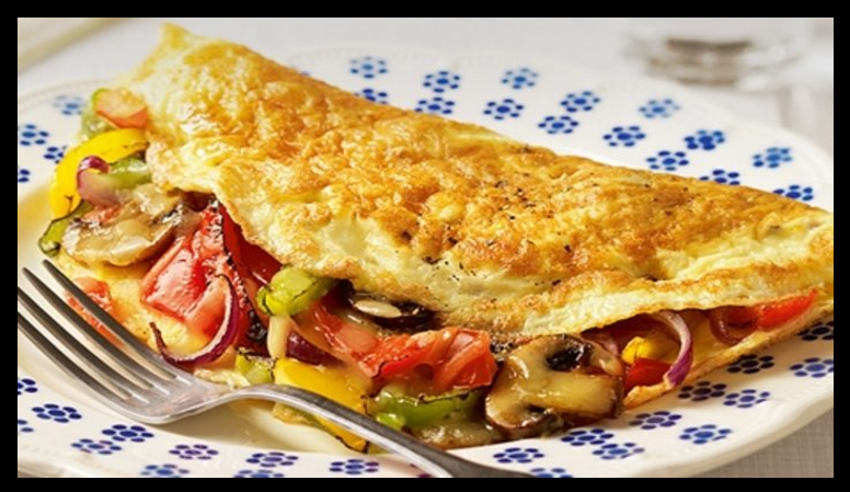 THE CHEF SEZ:  cream cheese is an ingredient that will transform an omelette!