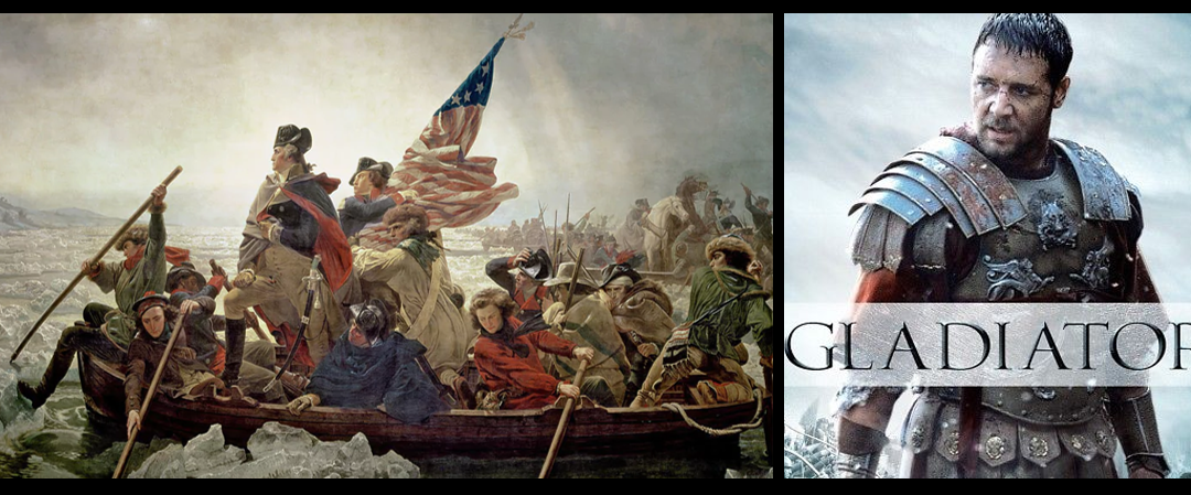 "MIKE & MIKE:  the American Revolution & the combat scenes in the movie ""Gladiator"" are awesome!"