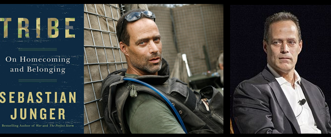 "REWIND:  Sebastian Junger talks about ""dislocation"" when leaving the military & trauma that predates military service and suicide"