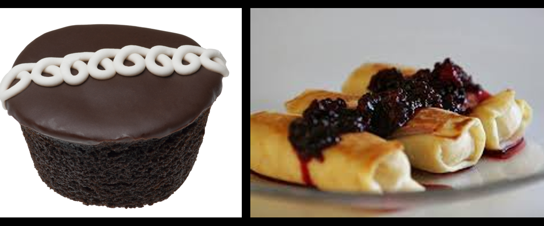 THE CHEF SEZ:   All Bakery Radio!  From Hostess Cupcakes to Blintz's  —  yum!