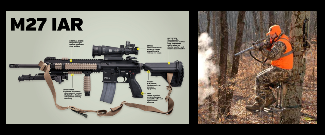 "MIKE & MIKE:  Why new weapons are soooooooo different than old weapons & is ""deer stand hunting"" real hunting?"