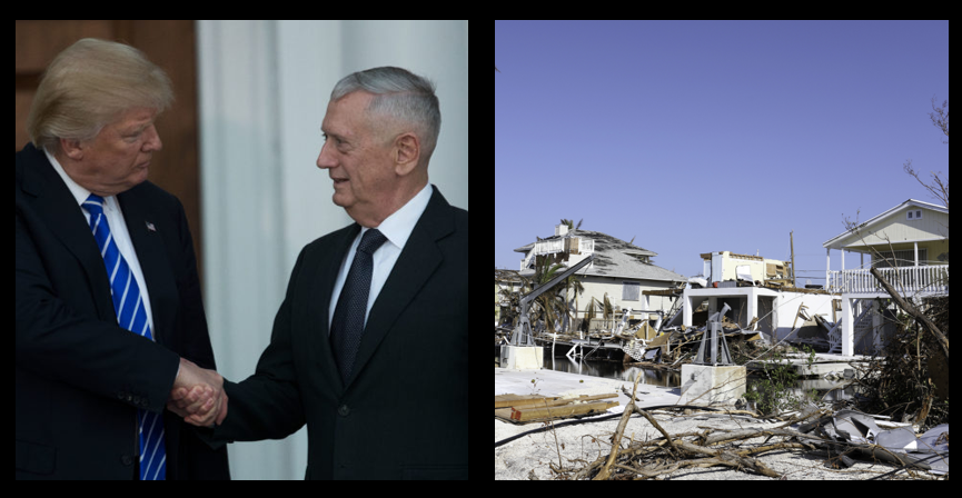 "NEWS & COMMENTARY:  The SECDEF is an ""Independent""  — The historical origin of ""Time Zones"" — Flood Insurance is a necessary thing"