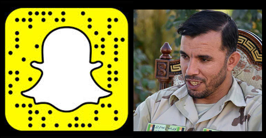 NEWS & COMMENTARY:  SnapChat  for teens & trouble in Afghanistan