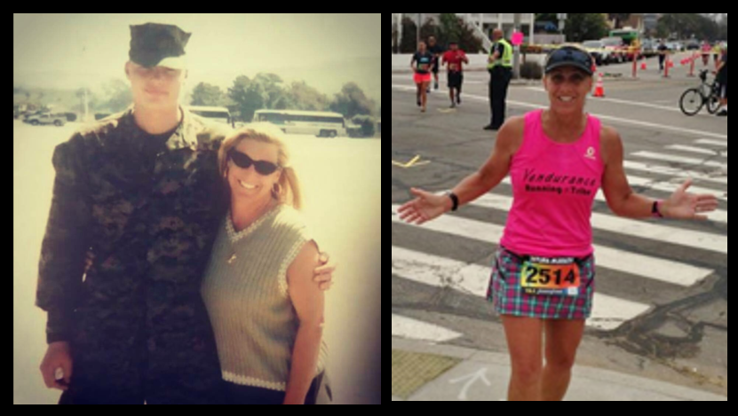 MARINE CORPS MARATHON:  Gold Star Mom Lisa Anderson talks about running to honor her son