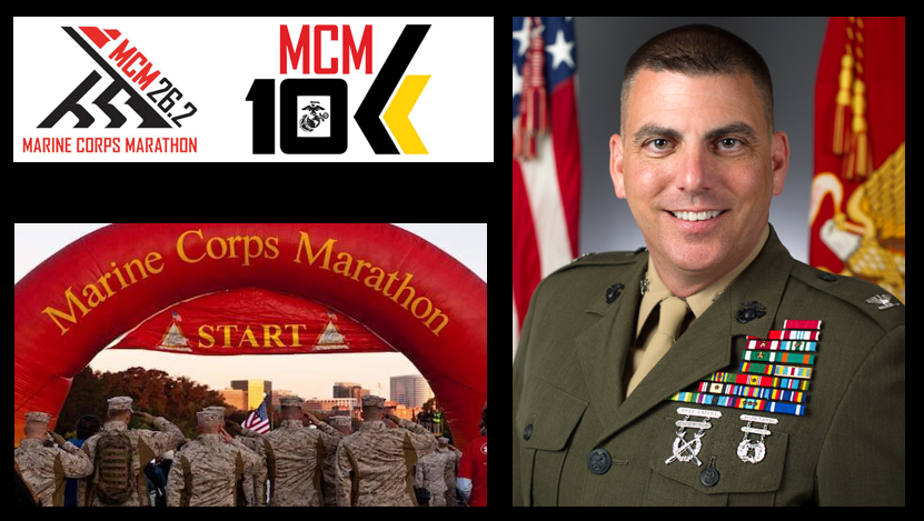 MARINE CORPS MARATHON:  The Commanding Officer of the whole thing – Col John Atkinson's thoughts on a BIG task