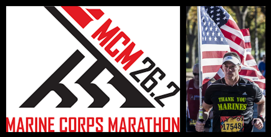 MARINE CORPS MARATHON:  Ashley Topolosky & Major Ken Kunze make us smart about the entire weekend