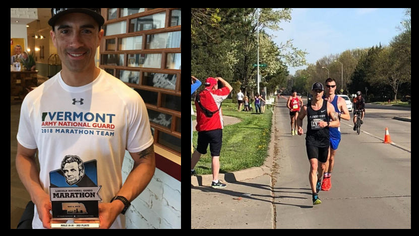 MARINE CORPS MARATHON:  the US Army National Guard Marathon Team includes a former Marine — Mark Jones talks how running helped him turn his life around