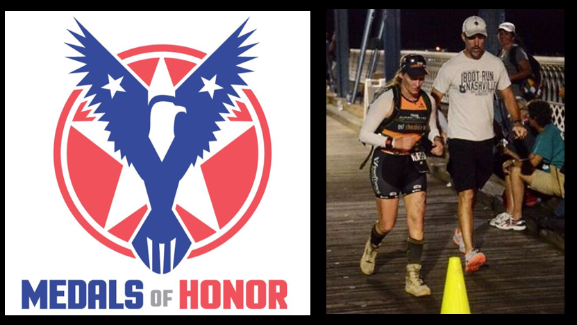 "MARINE CORPS MARATHON:  Marine Mom Amy Cotta starts running and creates ""Medals of Honor"" to honor the fallen their families"