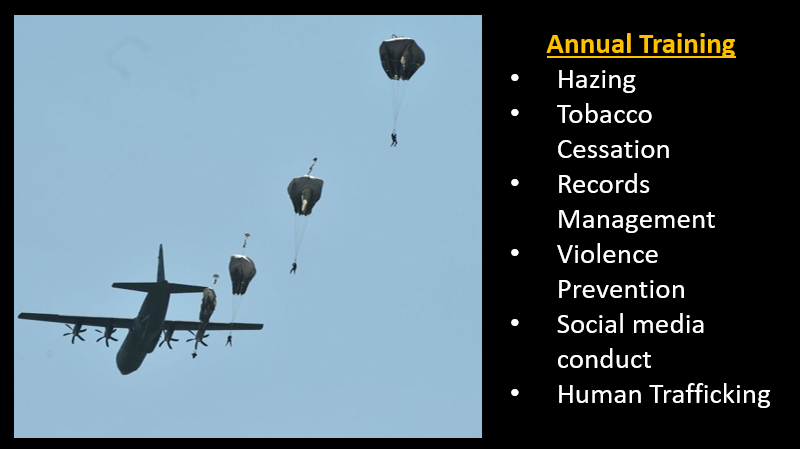 NEWS & COMMENTARY:  Parachute accidents & the USMC fight against mundane annual training