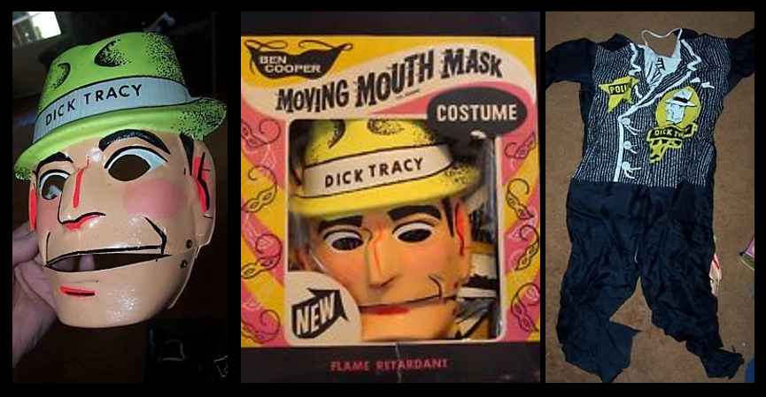 NEWS & COMMENTARY:  Happy Halloween… my last costume was a Dick Tracy costume in 1963!