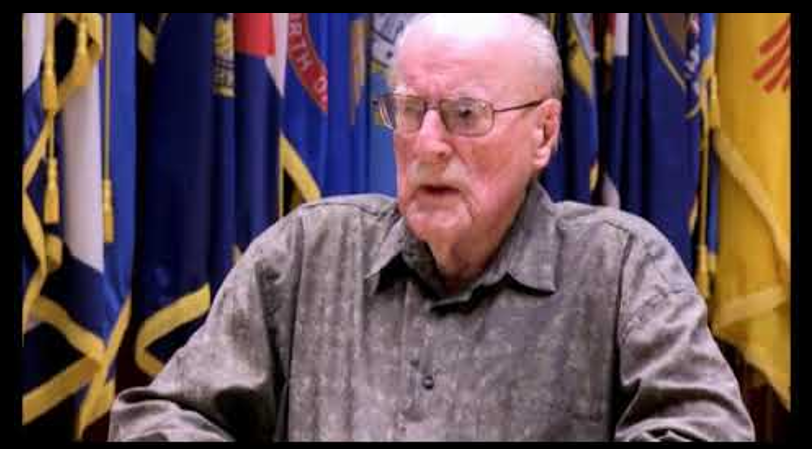 WORLD WAR II MARINES:  LtCol Art Antczak, USMC talks being a USMC Raider and combat on Guam & Okinawa
