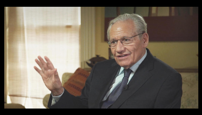 """NEWS & COMMENTARY:  Bob Woodward talks about a """"media unhinged"""" and the need for """"more serious reporting"""""""
