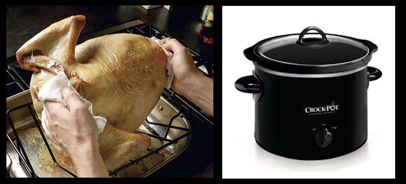 "NEWS & COMMENTARY:  Happy Thanksgiving!!!!!  The Chef talks ""flipping the bird"" and crock pot usage for Thanksgiving"