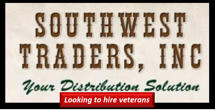 LOOKING TO HIRE MARINES & VETERANS IN SOUTHERN CALIFORNIA:  Terry Walsh, President of Southwest Traders Inc.